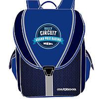 """Ранец CF16 CF85634 синий """"Rally Circuit""""710, 35,5х28х21 см, каркасний-трансформер,ортоп. спинка, 1-4 класс"""