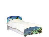 Кровать Мульти Дельфины (Світ Меблів ТМ)