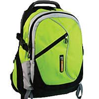 Рюкзаки Safari15 9495 черно-зеленый 45х30х17 см 2 отделения + отд. для ноутбука