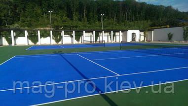 Бесшовные акриловые покрытия  для тенниса