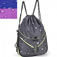 Рюкзак Dolly16 835 микс мешок, размер 37x43x10см с одним отделением, которое стягивается шнуром
