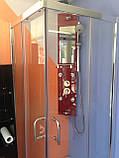 Квадратна душова кабіна Golston G-A3003, 800х800х1800 мм, скло прозоре, фото 6