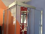 Квадратна душова кабіна Golston G-A3003, 900х900х1800 мм, скло прозоре, фото 6