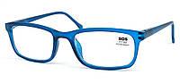 Очки для чтения «SOS» (унисекс) P 14149 +2,00, Mat Navy Blue