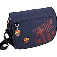 "Сумка Kite16 BC15-981 синий ""981 FC Barcelona"" размер 36х28х8см, вес 650г, объём 8л"