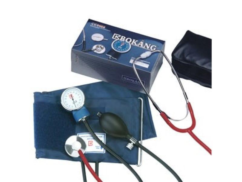 Тонометр измеритель артериального давления с стетоскопом Bokang без наушников СКЛАД 1 шт