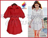 Женское платье - рубашка под заказ (от 30-50 шт.)