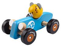 """Деревянная игрушка """"Гепард-гонщик"""", Plan Toys"""