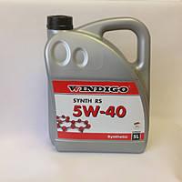 Моторное масло синтетическое Windigo 5W40 5l