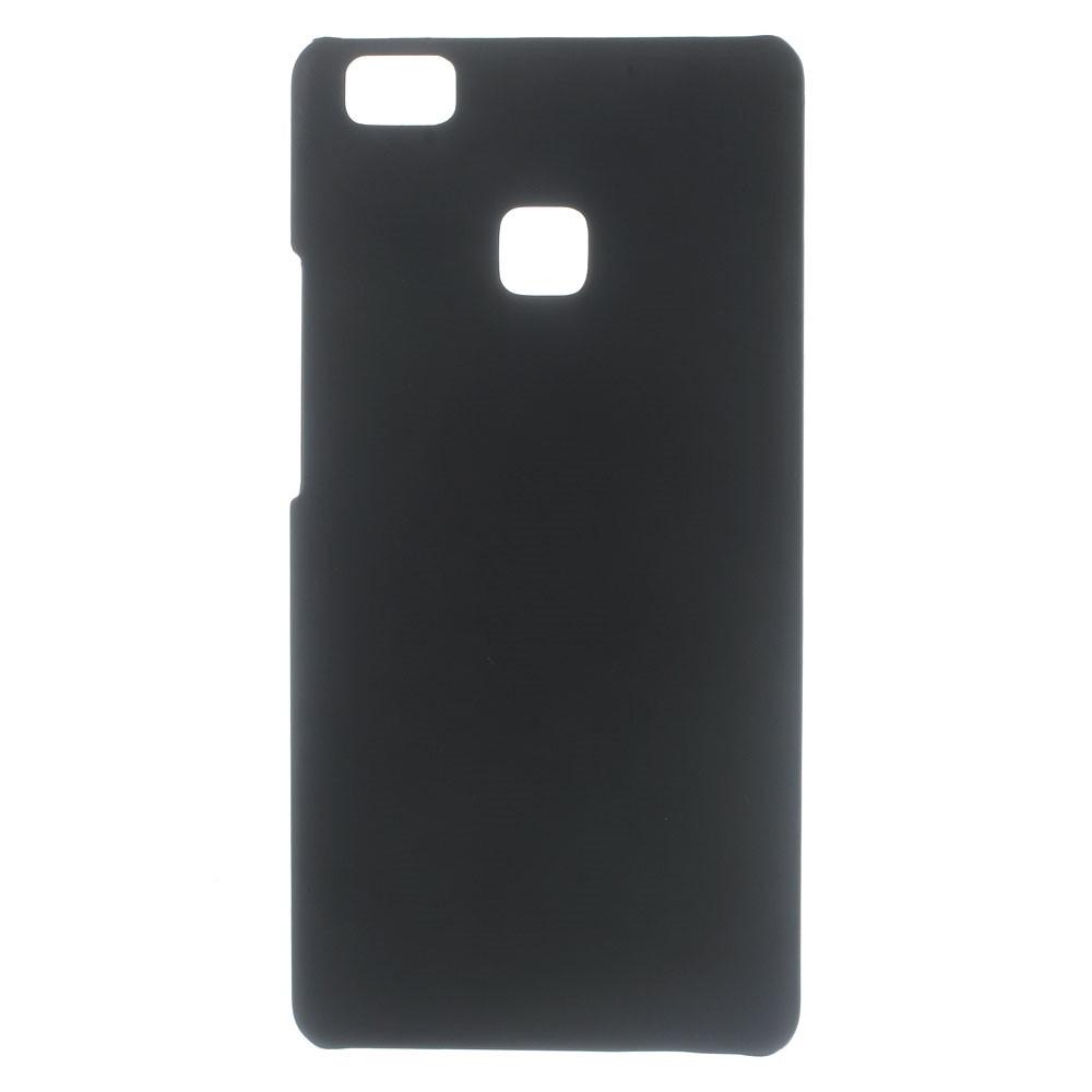 Чехол накладка пластиковый Rubberized для Huawei P9 Lite черный