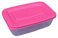 """Пищевой контейнер пластиковый (судок) 0,5 литра """"Горизонт"""" + Видео"""