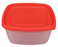 """Харчової контейнер пластиковий (судок) 1,5 літра """"ПП КВВ"""" + Відео, фото 1"""