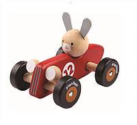"""Деревянная игрушка """"Гепард-гонщик"""", PlanToys"""