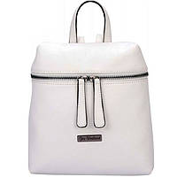 Рюкзак 1_Вересня16 553029 белый 20х20х7см жостка ортоп. спинка, материал PU, 1отд.