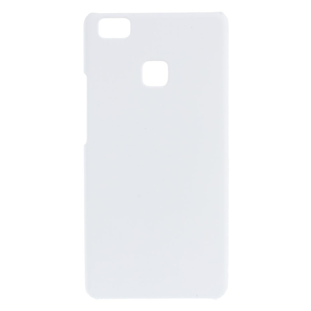 Чехол накладка пластиковый Rubberized для Huawei P9 Lite белый