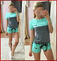 "Sport-Костюмчик ""Nike"" цвет ментол"