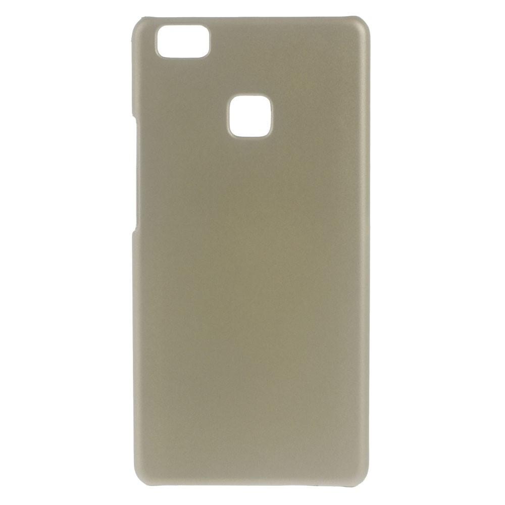 Чехол накладка пластиковый Rubberized для Huawei P9 Lite золотистый