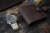 Мужской кожаный кошелек mod.Turtle, коричневый