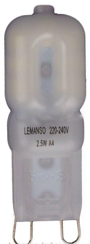 Лампа Lemanso св-ая G9 2.5W 230V 230LM 6500K / LM361