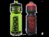 Бутылка спортивная Scitec Nutrition(черная,зелёная)