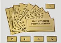 Указатели, таблички на дверь