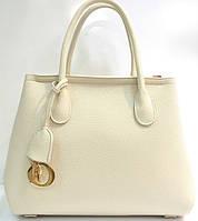 Брендовая женская сумка Dior Диор молочная
