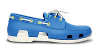 Crocs Beach Line Boat Shoe Blue White