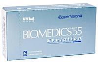 Контактные линзы на 1 месяц Biomedics 55 Evolution (6 шт.)