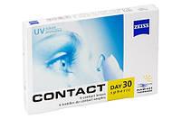 Контактные линзы на 1 месяц  Zeiss Contact Day 30 Mediterranee (1 шт.)