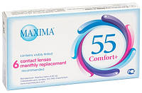 Контактные линзы на 1 месяц  Maxima 55 Comfort Plus (1 шт.)