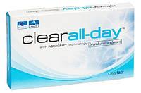 Контактные линзы на 1 месяц   Clear All-day (6 шт.)