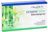 Контактные линзы на 1 месяц  OkVision Fusion New (6 шт.)