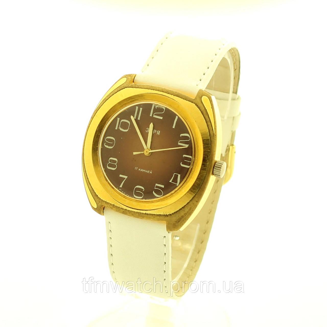 81ced4dc Механические часы Заря СССР - Магазин старинных, винтажных и антикварных  часов TFMwatch в России