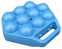 """Лоток для яиц пластиковый на 10 яиц 1-й сорт """"ЧП КВВ"""", фото 1"""