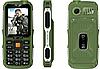 Противоударный телефон Servo V3 -  4 sim, фонарик, Green ' ' ' '