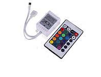 УЦЕНКА! Контроллер с пультом ДУ для RGB SMD 5050 LED ленты