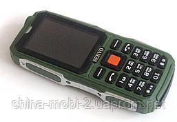 Протиударний телефон Servo V3 - 4 sim, ліхтарик, Green, фото 3