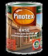 Бесцветная защитная грунтовка для внешних работ по древесине PINOTEX BASE