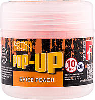 Бойлы Brain Pop-Up F1 Spice Peach (персик/специи) 10 mm 20 gr