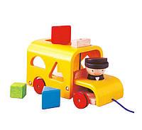 """Деревянная игрушка """"Автобус-сортер"""", PlanToys"""