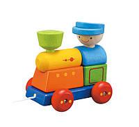"""Деревянная игрушка """"Поезд-сортер"""", PlanToys"""