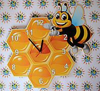 Часы настенные Пчёлка