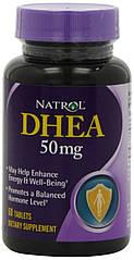 ДГЕА (дегидроэпиандростерон) DHEA 50 mg (60 табл.) Natrol