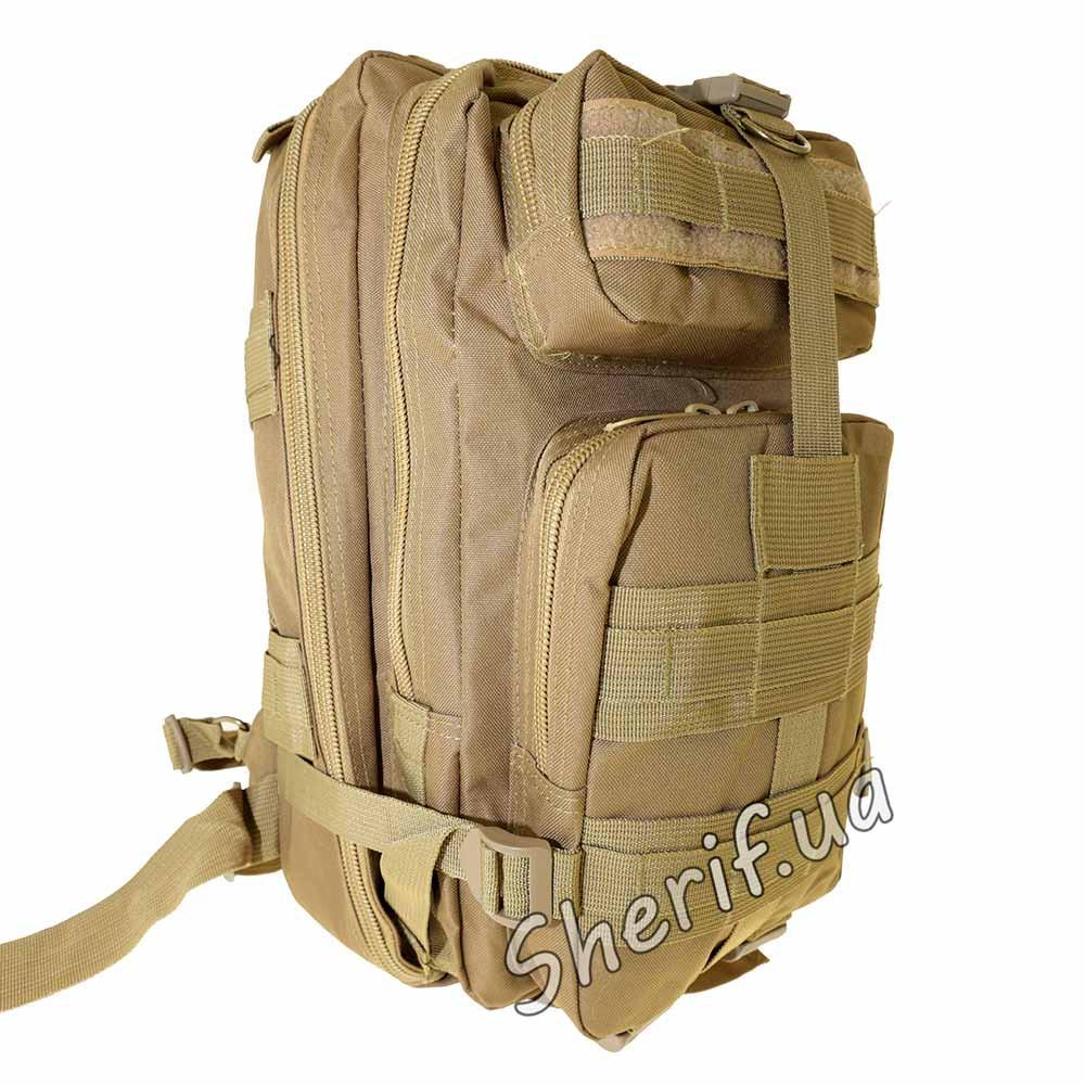 Военный тактический рюкзак 20 литров 3D Pack Coyote brown BE0316UA