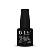 Верхнее покрытие для геля D.I.S. nail UNIVERSAL TOP 7.5ml