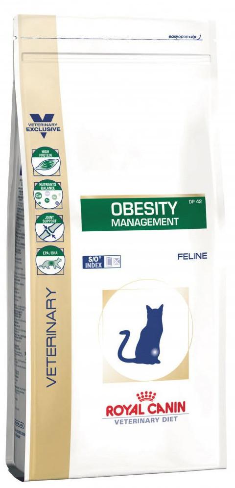 Лечебный корм для кошек при ожирении Royal Canin Obesity Management DP42