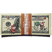 Деньги 100 долларов обезьяны