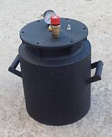 Черный большой газовый автоклав болты на 30 банок по 0,5 л/на 20 банок по 1 л di
