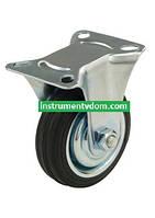 Колесо 510075 с неповоротным кронштейном (диаметр 75 мм)