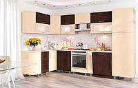 Кухня модульная стиль хай-тек КХ 195